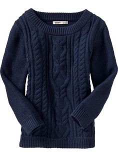 Great navy sweater!