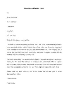 Employee Warning Letter 49 Professional Warning Letters Free Templates Template Lab Preparing A Business Plan, Professional Reference Letter, Letter Template Word, Cash Flow Statement, You Have Been Warned, Executive Summary, Letter Example, Handwritten Letters, Marketing Plan