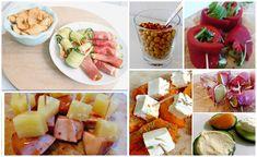 Ik geef je een heel aantal recepten voor gezonde hapjes voor bij de borrel, voor op een verjaardag of gewoon voor als je visite krijgt.