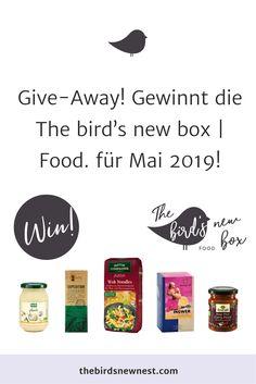Gewinnt die The bird's new box Curry Paste, I Foods, Box, Nest, Birds, Grill Party, Super Simple, Nest Box, Snare Drum