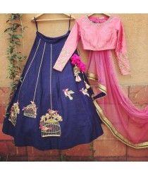 "Originally shared by #szonlineindia fashion  Look gorgeous with these most beautiful lehenga. Ready to ship.   ""#Wedding Special Latest #silk #designer #lehenga..!"" Order On Whatsapp no +91 9377221169 #lehengacholidesigns #buydesignerbridallehengacholionlineinindia #weddingcollectionbuydesignerlehengaonline #buyartsilklehengacholionlineindia #lehengacholionlineshoppingwithprice #southindianlehengacholionlineshopping"