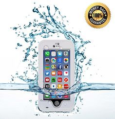 """iPhone 6 Plus Waterproof Cell Phone Protective 5.5"""" Case, Awesome Protective Covers & Accessories Offers Alternative to Lifeproof Defender & Otterbox Cases, for Apple AT&T, Verizon Wireless, Virgin & Sprint Phones. Buy Now to Protect & Defend Your Investment! (White) Armour Shell http://www.amazon.com/dp/B00NXH3VRG/ref=cm_sw_r_pi_dp_OCgbvb0DM8ZX2"""