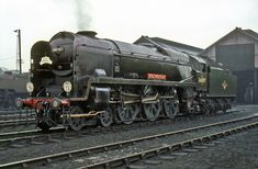 34097 at Eastleigh MPD_MSS0605_120665   by Glawster Oldspot