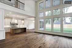 1615 Lynnview Dr  White interior, wood floors, white kitchen