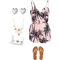 paradise by daniela-humajova on Polyvore featuring polyvore fashion style NLY Trend Aéropostale Marc by Marc Jacobs Links of London Charlotte Russe