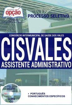 Concurso CISVALES  ASSISTENTE ADMINISTRATIVO