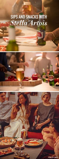 There are many ways to make a dinner party memorable. Let Stella Artois inspire you to make it your own. Try food from different regions, ask your guests to bring something they love, put your phones away for the night, and make this summer gathering one to remember.