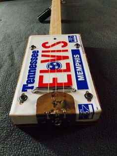 Elvis-License-plate-cigar-box-guitar