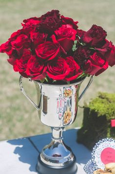 Red and Black Kentucky Derby Bridal Shower - OCCASIONS
