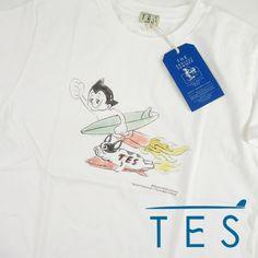 TES エンドレスサマー TES x Flying 鉄腕アトム 手塚治虫 コラボTシャツ FH-1574603 【半袖Tシャツ】 【メール便可】 -JOE-