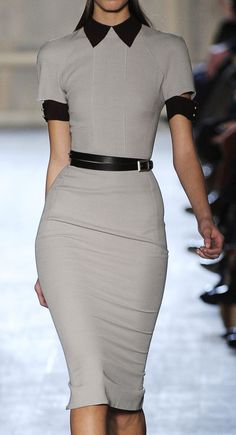 Grey Dress - Office Style ▶suggested by ~Sophistic Flair~