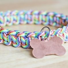 Make your dog a sturdy collar with just a few supplies!