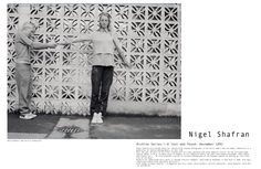 MAP - News – Re-EditionPublishes Nigel Shafran's 1992 i-D 'Lost and Found' Story