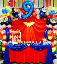 24 x SUPER HERO PARTY LOOT Bags /&  24 x Super Hero Balloons birthday