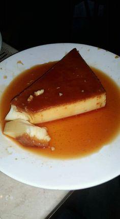 My favourite #caramel #custard.. love it. #dessert