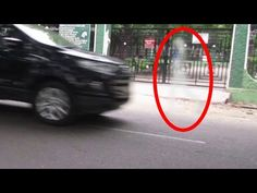 Real Ghost Spirit Walking On The Road And Disappearing, Real GHost Caught On Camera Video-85 - YouTube