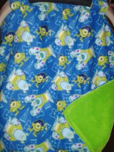 Custom monsters inc canopy cover you pick fabric | Fabrics, Monsters ...