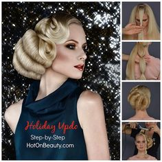 Hair and Beauty Magazine. Step by Step Hair How-Tos. Free Photo gallery of hair styles. Hair Books and DVD Online store. Great Hairstyles, Latest Hairstyles, Short Hairstyles, Competition Hair, Pageant Hair, Roll Hairstyle, Beauty Magazine, Hair Photo, Hair Art