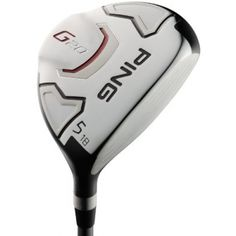 Ping Men's G20 Fairway Wood:  Ping routinely gives you the best of both worlds, like the way the G20 combines a larger head with a lower profile.