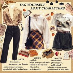 🎷☁️ guess who not only understood her psychology assessment but also got a partime job today that I went for yeet also I love these… Mode Outfits, Retro Outfits, Fall Outfits, Vintage Outfits, Hipster School Outfits, Aesthetic Fashion, Aesthetic Clothes, Aesthetic Vintage, Aesthetic Art