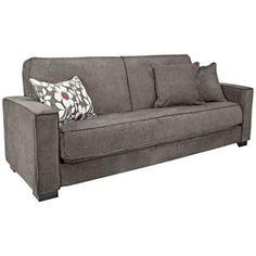 angelo:HOME Grayson Parisian Smoky Gray Sleeper Sofa