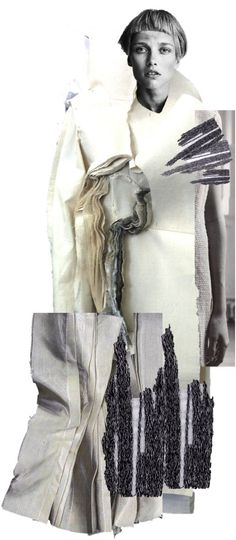 I chose this image because I think the use of collage is good to create a unique design. This idea could be applied to my work to help me develop my designs further.  Connie Blackaller.
