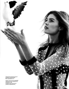 Doutzen Kroes by Paul Bellaart for Vogue Nederland September 2013