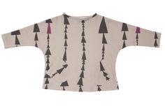 Camiseta de felpa (100% algodón orgánico), con estampado diseñado por Perfect Days