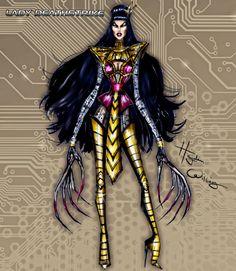 #Marvel Divas by Hayden Williams : Lady Deathstrike