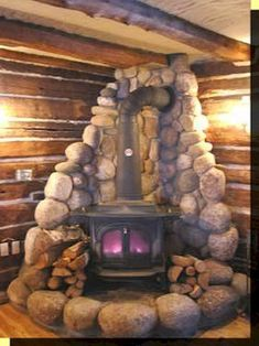 38 Trendy Ideas For Wood Burning Stove Fireplace Surround Stone Walls Wood Stove Surround, Wood Stove Hearth, Stove Fireplace, Wood Burner, Fireplace Design, Fireplace Ideas, Mantel Ideas, Farmhouse Fireplace, Small Fireplace