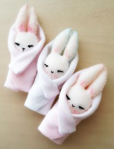 Gingermelon Dolls: Bunny in a Blanket - Free Pattern Tutorial