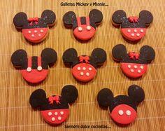 Siempre Dulce Cocinillas : Galletas Mickey y Minnie