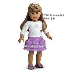American Girl Doll Birthday Party Girl
