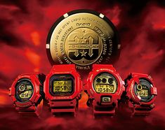 G-SHOCK ... 30th Anniversary limited edition ... 12,000 set worldwide only!