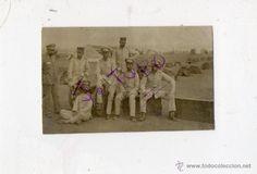 Fotografía antigua: antigua fotografia de militares españoles en CUBA - Foto 1 - 42778870