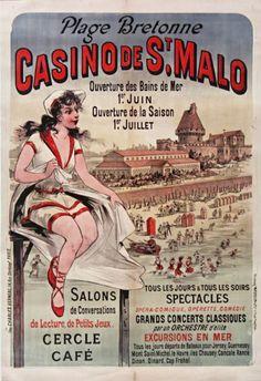 Casino de Saint-Malo - Bretagne - France -