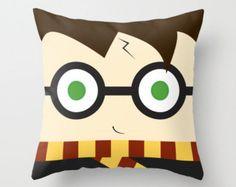 Wizard boy Pillow, plush decoration