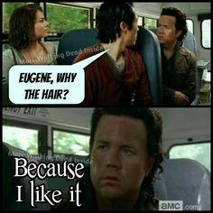 The Walking Dead, Memes, Glenn Rhee, Maggie Greene, Eugene Porter