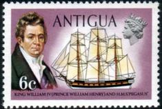 Antigua 1970 Ships and Captains William IV and H M S Pegasus Fine Mint SG 275 Scott 247 Other West Indies and British Commonwealth Stamps HERE!