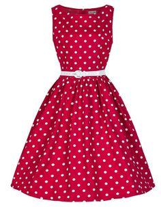 New Fashion Pin Up Vestidos Women Summer Retro Casual Elegant Sleeveless Robe Rockabilly 50s Vintage Polka Dot Dress #A61729