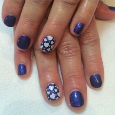 Helena's nail design! more #hearts ❤️ #valentines #valentinesnails #nailart #nailsdid #naildesign #nailgasm #nailporn #nailjunkie #beauty #fashion #wowwownails #toronto