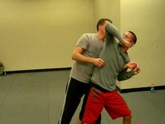 Krav Maga defense for full nelson taught by Jarret Waldman