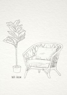 Drawing Sketches, Drawings, Wicker, Vintage Inspired, Moose Art, Plants, Animals, Inspiration, Animales