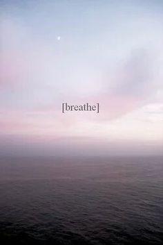 """breathe"" soothing phone wallpaper"