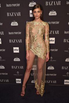 Celebrity Style — taylorsmariehill:   Taylor Hill attends Harper's...