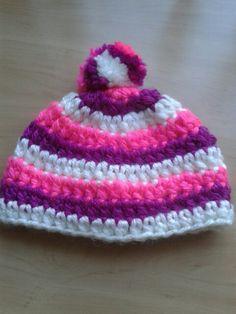 Baby Mutsje 0 Tot 6 Maanden Crochet Pinterest Haken En Kleding