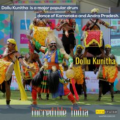 Dollu Kunitha : Ritualistic folk dance of #Karnataka  #IncredibleIndia #ItHappensOnlyInIndia