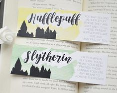 Slytherin hufflepuff bookmark harry potter 7 - DIY Gifts For Home Ideen Harry Potter Journal, Harry Potter 7, Cadeau Harry Potter, Harry Potter Sketch, Harry Potter Bookmark, Harry Potter Drawings, Creative Bookmarks, Bookmarks Kids, Slytherin And Hufflepuff