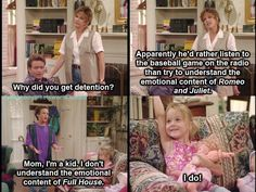 My favorite referencing another favorite... full house and boy meets world