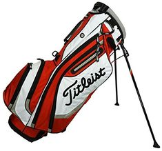 Best Golf Bags | Titleist Mens Lightweight Stand Bag Fire RedWhiteGrey >>> Visit the image link more details. (It is Amazon affiliate link) #stripes